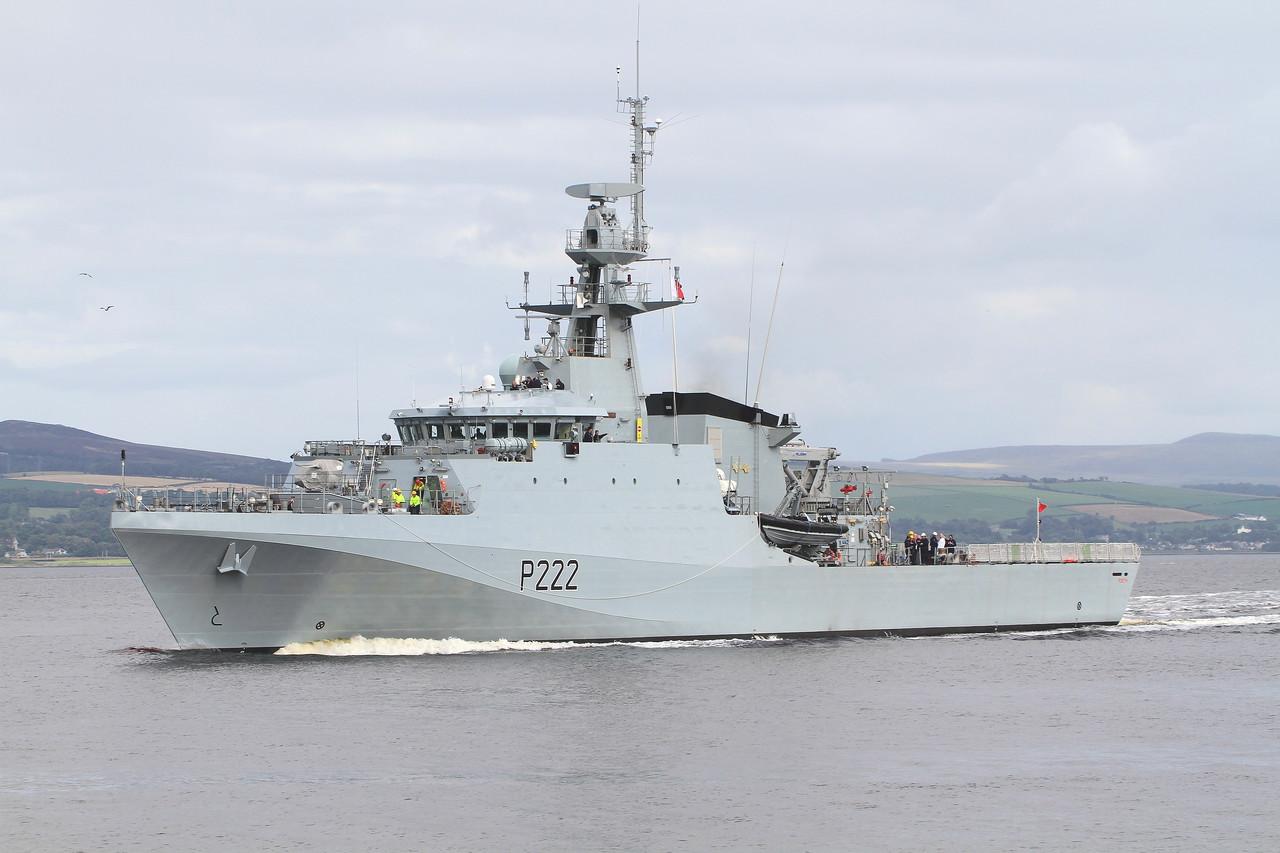 P-222 HMS FORTH