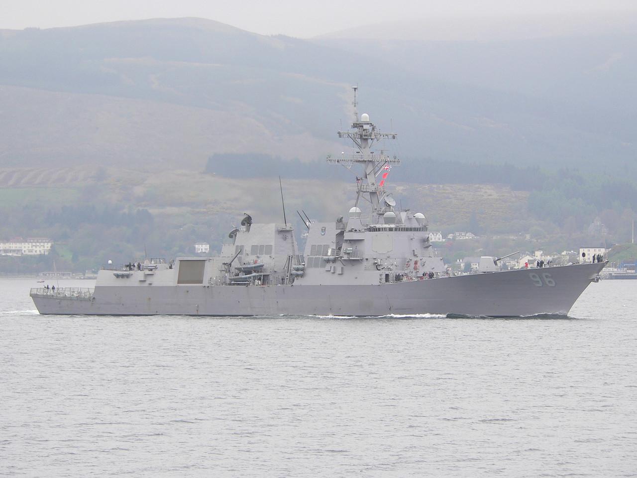 DDG-96 USS BAINBRIDGE
