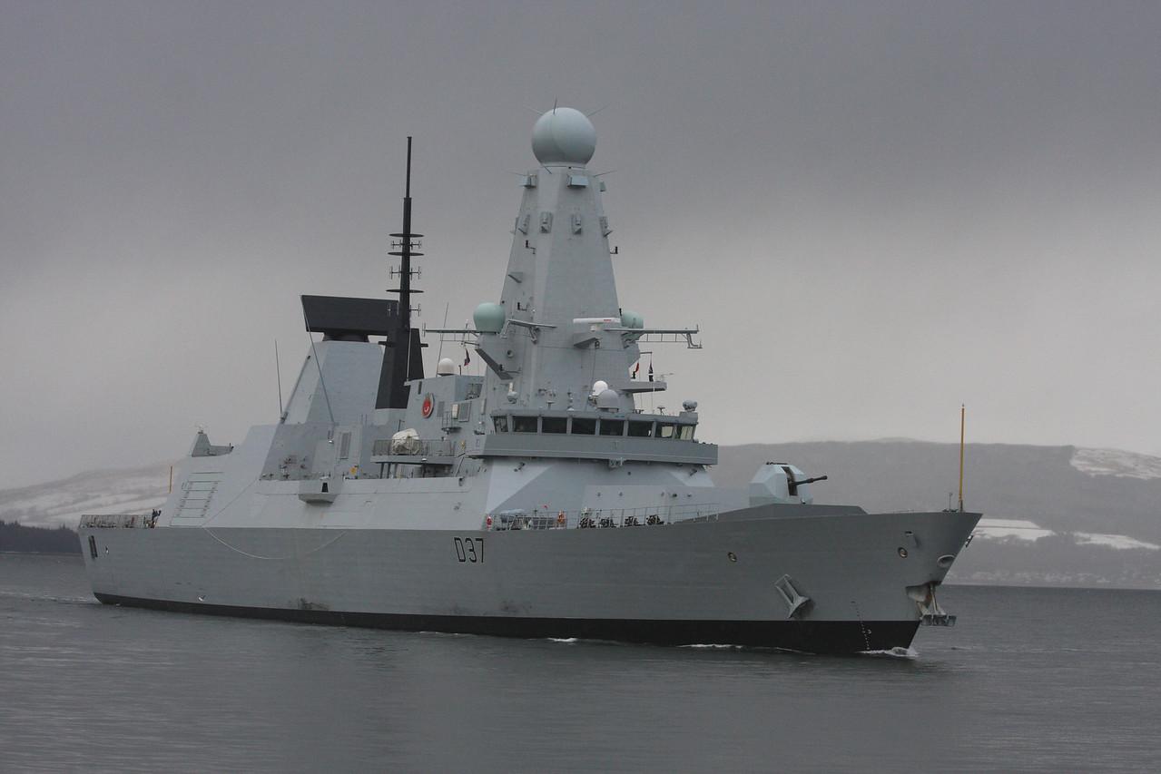 D-37 HMS DUNCAN