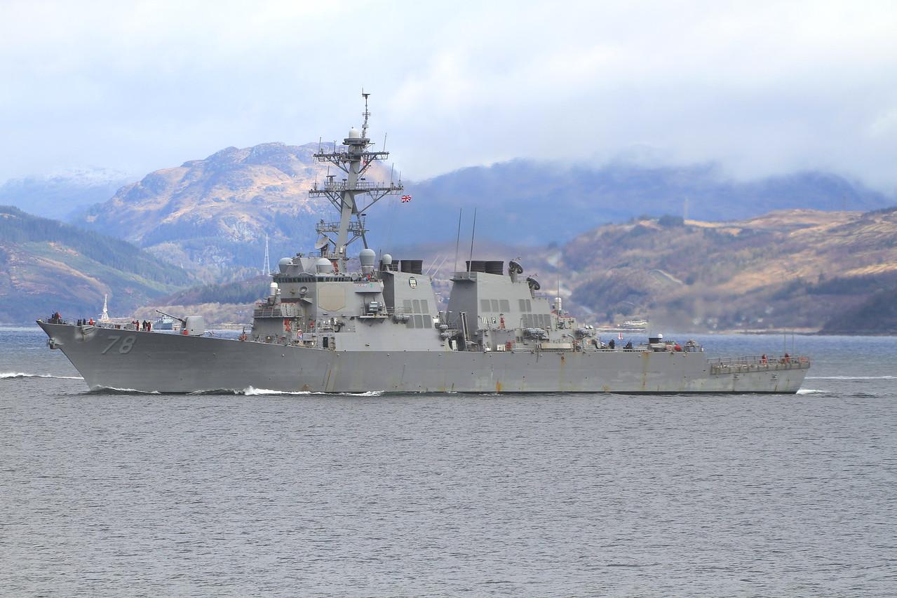 DDG-78 USS PORTER