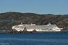 'Norwegian Jewel' departs from Wellington Harbour, 23 November 2017