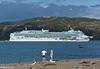 'Norwegian Jewel' departs from Wellington Harbour, 15 January 2018