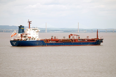 CLYDE FISHER arrives off Portbury. 6th July 2010.