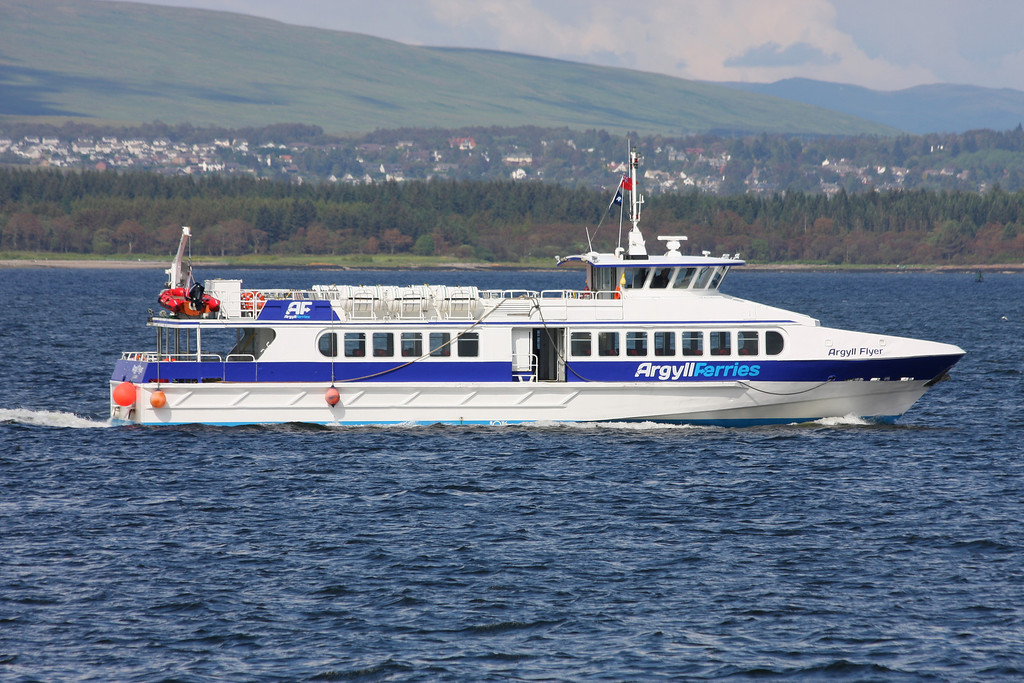 ARGYLL FLYER, Flag: UK, River Clyde July 2011