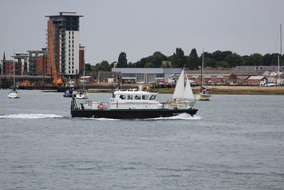 SD SOLENT SPIRIT - Approaching HMNB Portsmouth 30.07.10