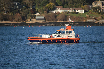 ARROW - Arriving back into Falmouth 20.01.10