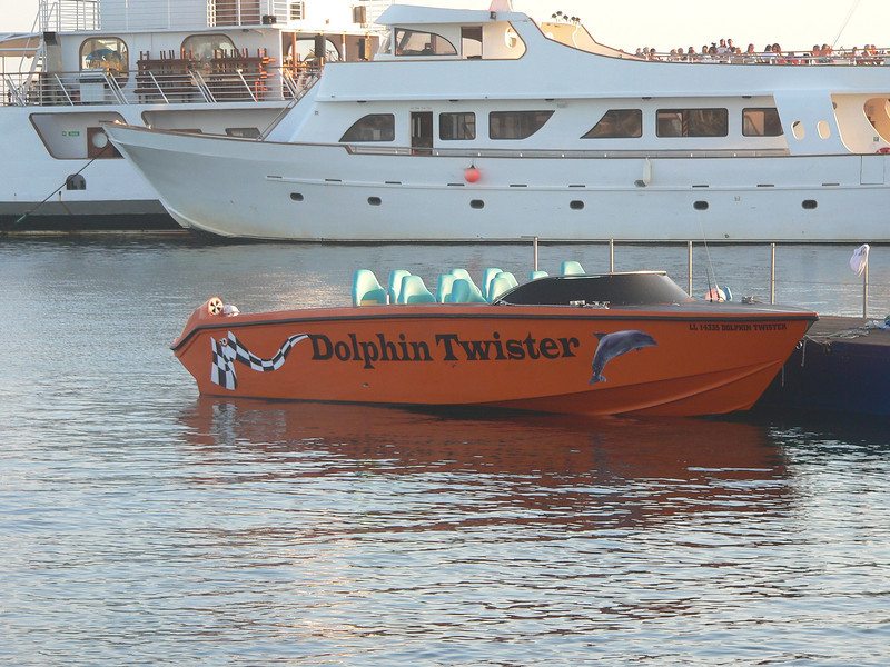 DOLPHIN TWISTER, Paphos July 2013