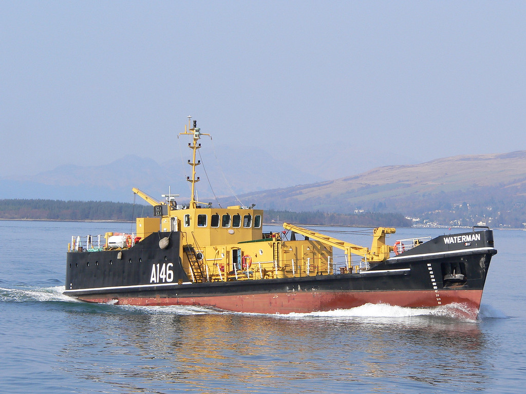 A-146 WATERMAN, River Clyde, March 2007