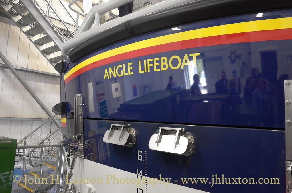 RNLI Angle Lifeboat Station - August 20, 2016
