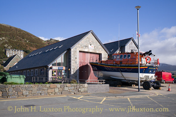 RNLI Barmouth Station and RNLB MOIRA BARRIE - February 18, 2018