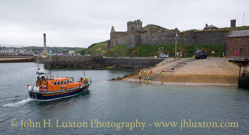 Peel Lifeboat Station and RNLB RUBY CLERY - June 17, 2018