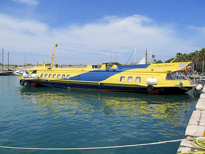 Royal Coastline Maritime's AEGEAN PRINCE II, IMO 8038637, Kos Harbour. Tuesday 27th May 2014.