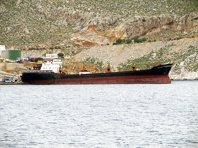General cargo ship LADY LEEN, IMO 8503840. Kalymnos. Thursday 29th May 2014.