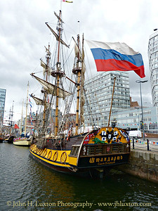 Sailing Ships at the Mersey River Festival - June 24, 2017