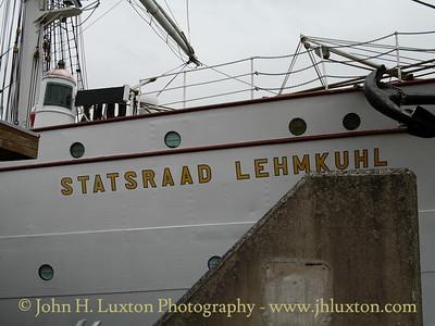 STATSRAAD LEHMKUHL, Sandon Dock, Liverpool. July 18, 2008.