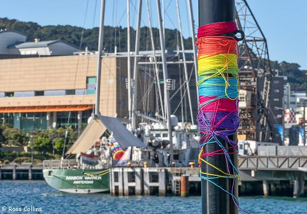 'Rainbow Warrior' at Wellington, 28 September 2018
