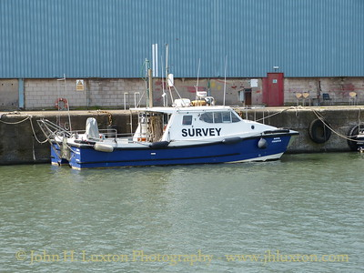 Peel Ports Survey Vessel ROYAL CHARTER - August 23, 2014