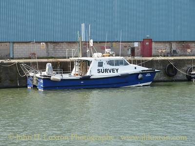 Peel Ports Survey Vessel ROYAL CHARTER - August 23, 2014