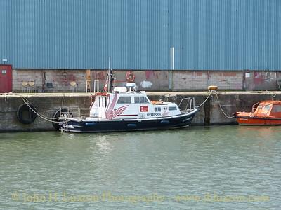 Peel Ports Liverpool 2 work boat L2 LEADER