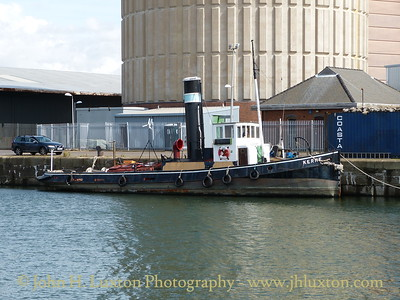 Steam Tug KERNE - August 24, 2014