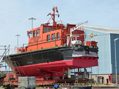 PV DUNLIN undergoing maintenance - August 24, 2014