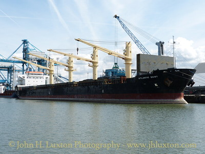 ATLANTIC DAISY at the Gladstone Dock Coal berth - August 24, 2014