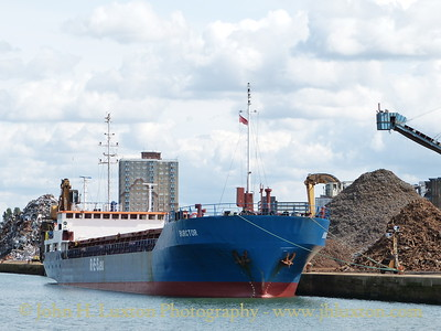 General Cargo ship BURGTOR at Alexandra Dock - August 24, 2014
