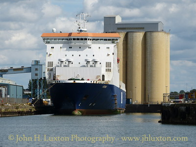 Norbay at Gladstone Dock P&O Terminal - August 24, 2014