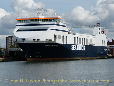 SEATRUCK POWER at Brocklebank Dock, August 24, 2014