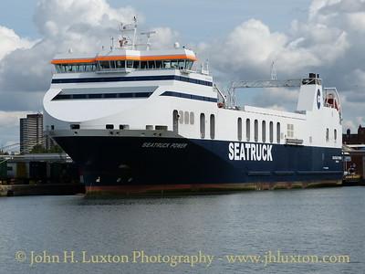 SEATRUCK POWER at Brocklebank Dock, August 24, 2014