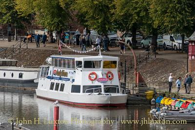 MV LADY DIANA: Chester to Aldford Iron Bridge - September 24, 2021