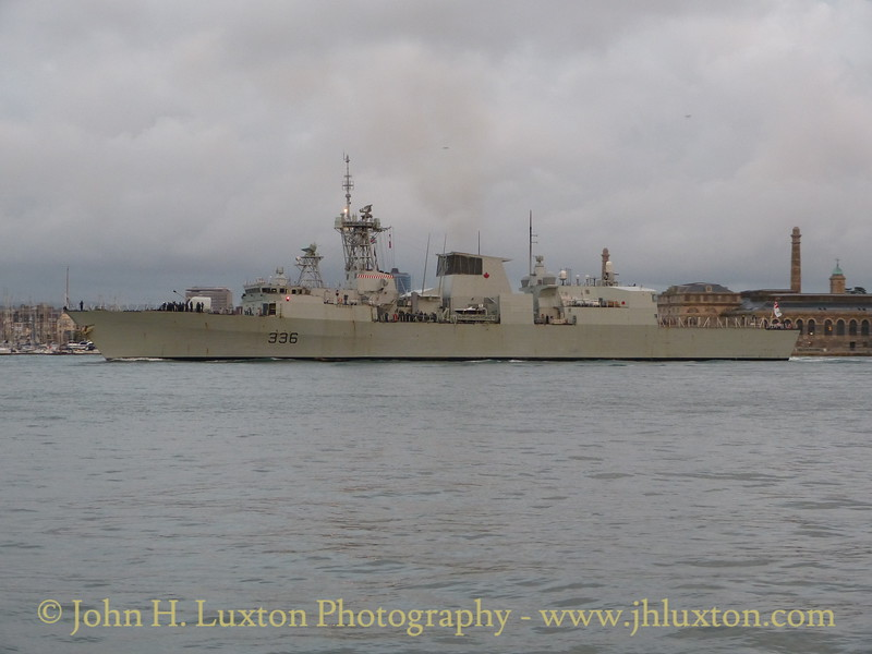 HMCS MONTREAL at the Cremyll, Cornwall - October 27, 2015
