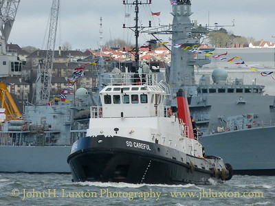SD CAREFUL, Devonport Dockyard, Devon - March 27, 2018
