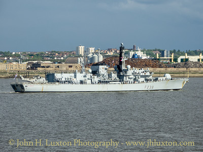HMS NORTHUMBERLAND F238 - Liverpool Arrival - May 18, 2019