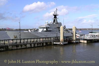 HMS TYNE, Liverpool Cruise Terminal, October 18, 2014