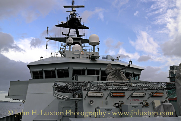 HMS TYNE, Liverpool Cruise Terminal, October 18, 2014