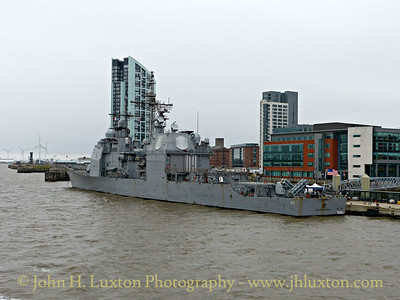 USS VICKSBURG visits Liverpool - April, 2015