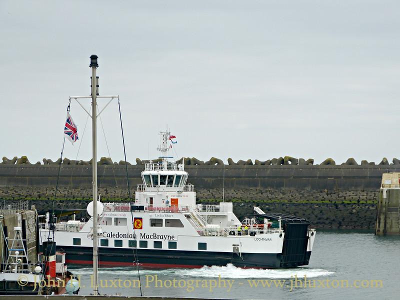 MV LOCHINVAR at Douglas, Isle of Man - March 19, 2016