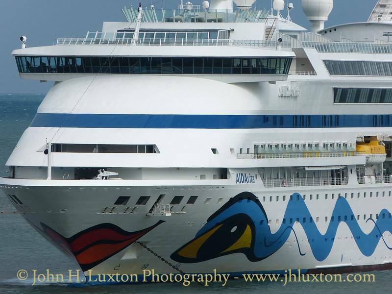 AIDAvita - Fishguard Harbour - August 19, 2016