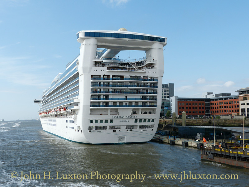 Caribbean Princess at Liverpool - June 18, 2016