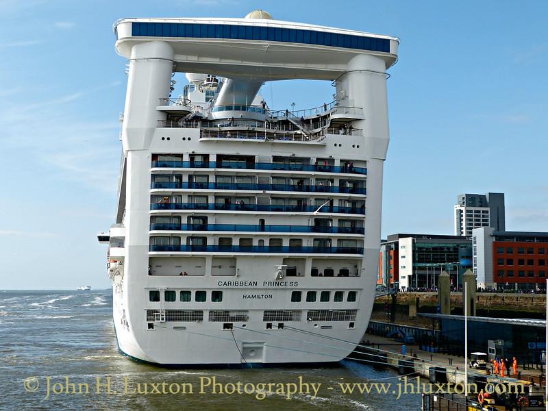 Caribbean Princess at Liverpool - June 18, 2016
