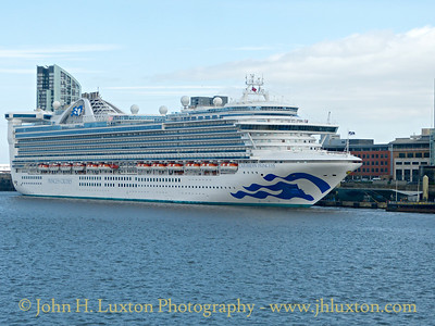 CARIBBEAN PRINCESS - Liverpool - July 28, 2017