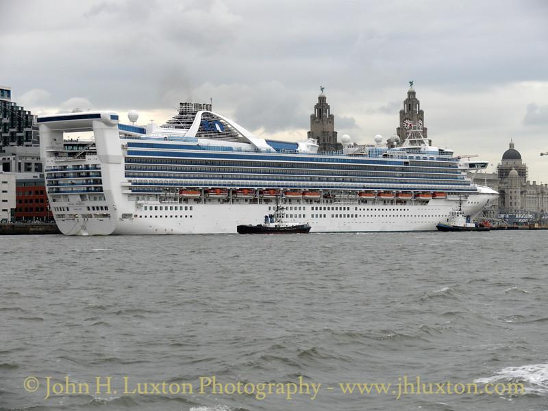 Grand Princess - Liverpool - June 11, 2008