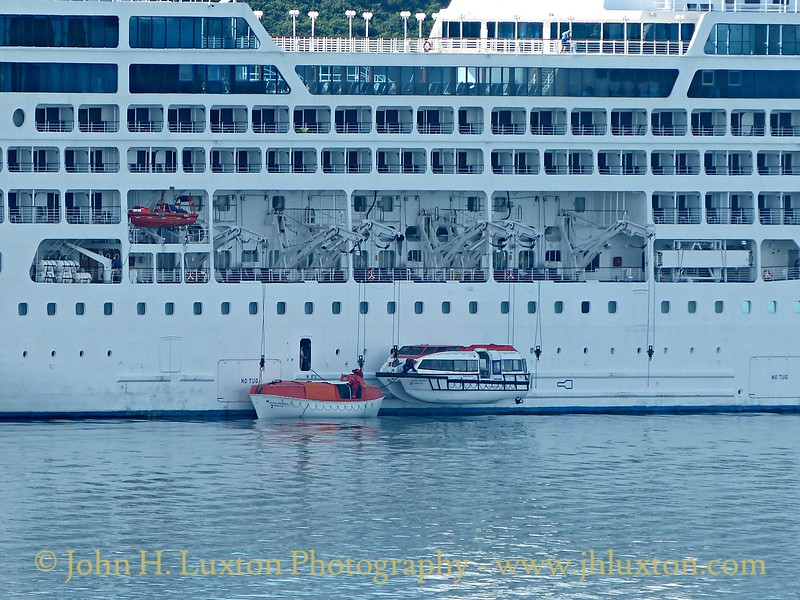 Carnival Corporation OCEAN PRINCESS  Tuesday August 11, 2015