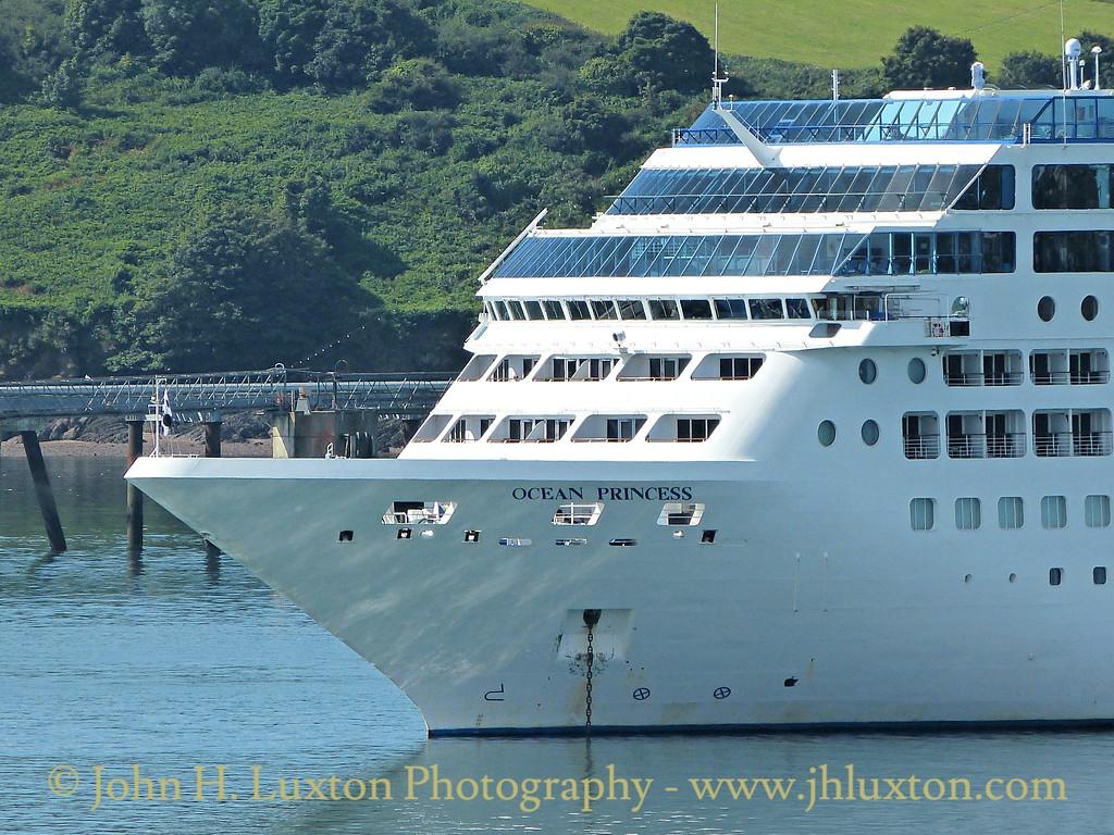 Carnival Corporation OCEAN PRINCESS  Tuesday August 11, 2015
