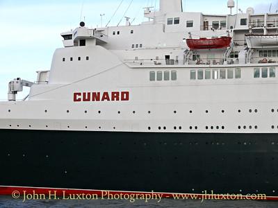 QUEEN ELIZABETH 2 - Liverpool - October 03, 2008