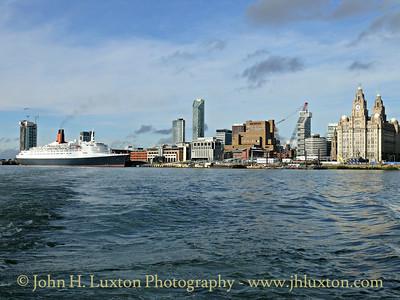 QUEEN ELIZABETH 2 - Liverpool - September 21, 2007
