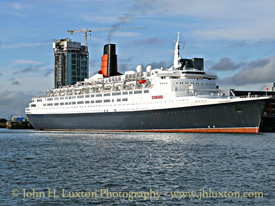 QUEEN ELIZABETH 2 - Liverpool - September 21, 2007
