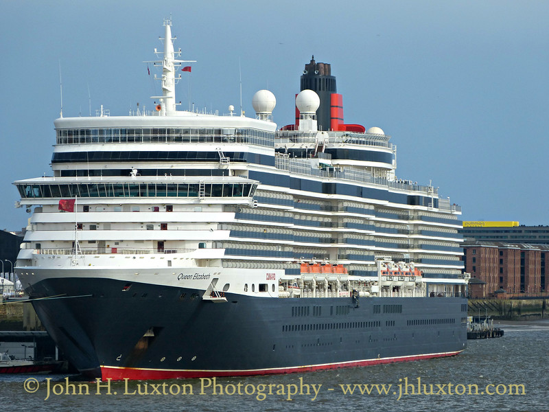 Queen Elizabeth - Liverpool - July 02, 2016