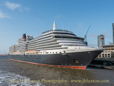 Carnival Corporation QUEEN VICTORIA - Liverpool Cruise Terminal - August 19, 2019